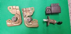 MAZDA MX5 EUNOS MK2.5 (2001 - 2005)  DOOR LOCKS + BOOT LOCK + 1 KEY     NBFL